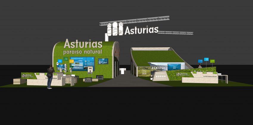 Estand de Asturies en Fitur 2020