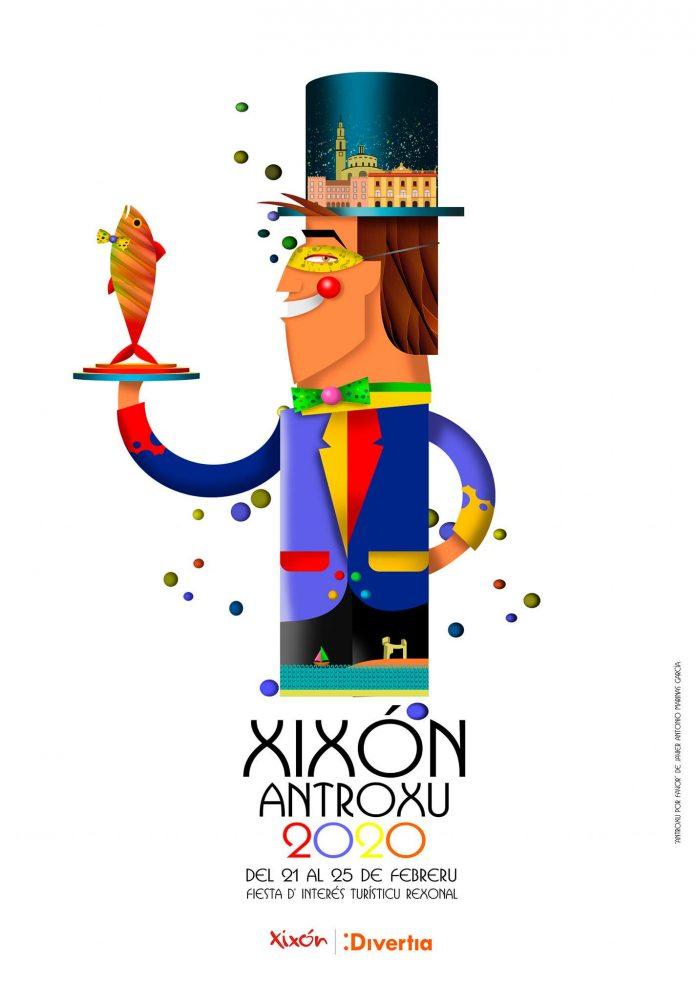 Gijón ya tiene cartel para el Antroxu 2020