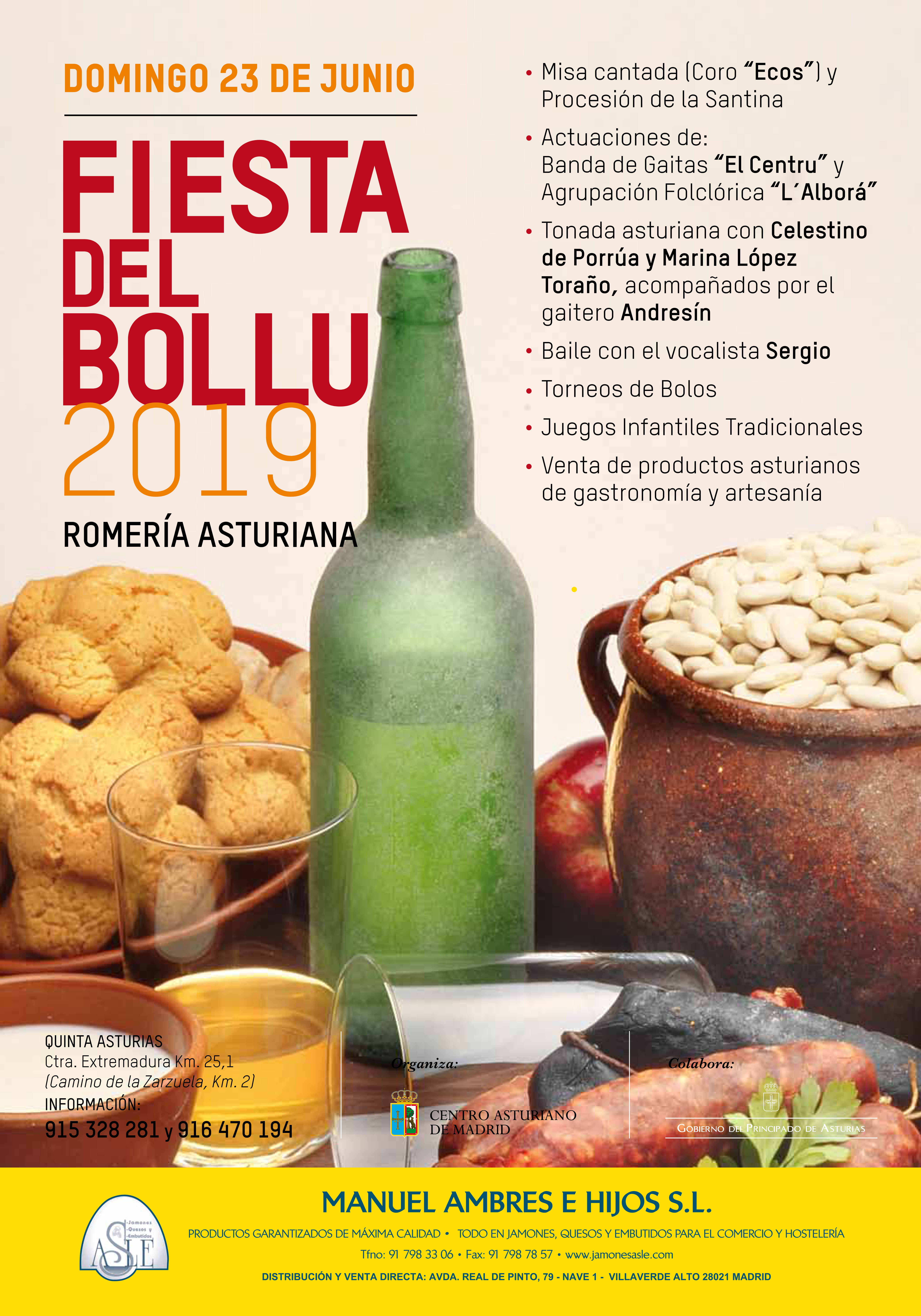 El Centro Asturiano de Madrid celebra la Fiesta del Bollu