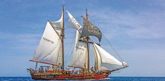 El velero clásico Atyla hará parada en Gijón esta Semana Santa