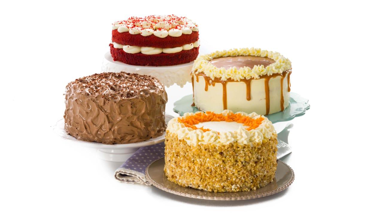 ¿Y de postre? Algunas de sus deliciosas tartas.