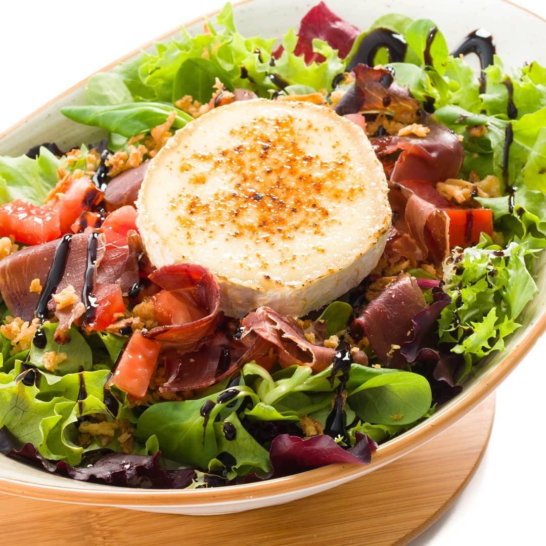 Una ensalada para los más sanos.