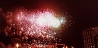 Gran Noche de los Fuegos en Xixón
