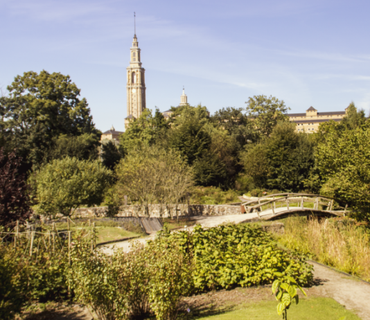 Vista del Jardín Botánico de Gijón