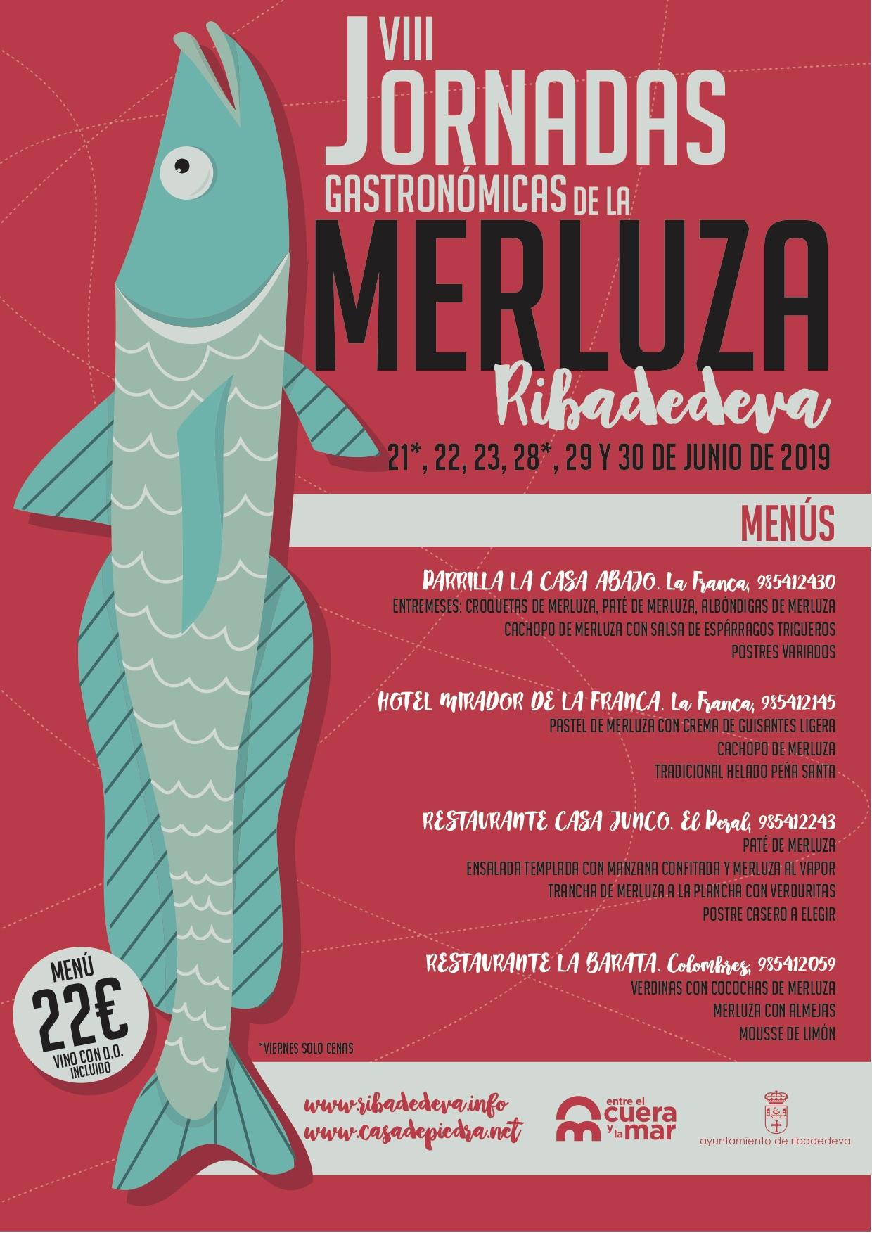 Último fin de semana para disfrutar de las Jornadas de la Merluza en Ribadedeva