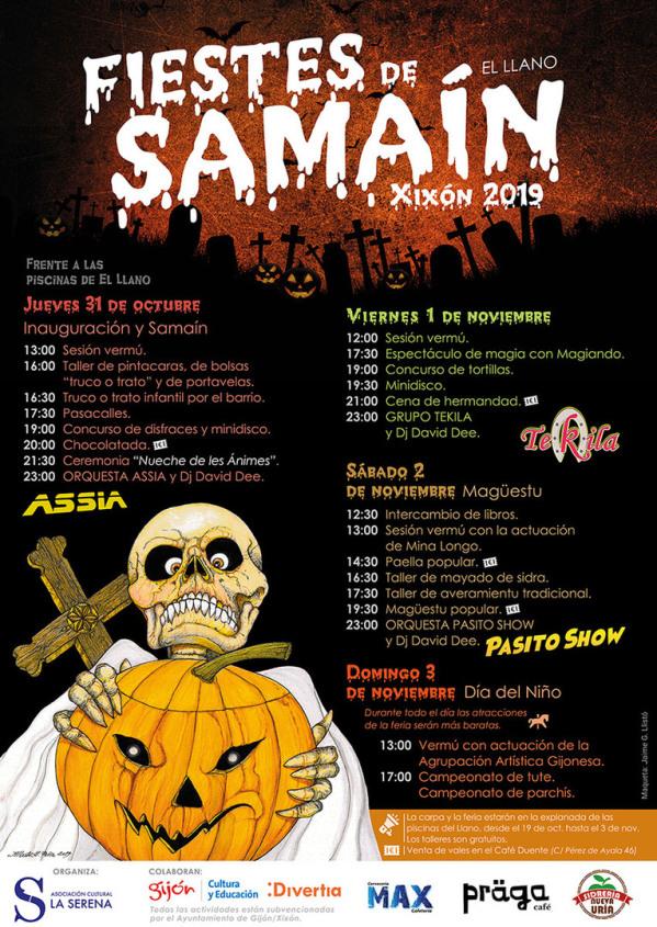 Fiestes de Samaín en El Llano (Gijón)