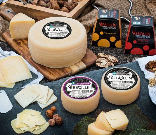 Queso de Afuega'l Pitu de la quesería Rebollín