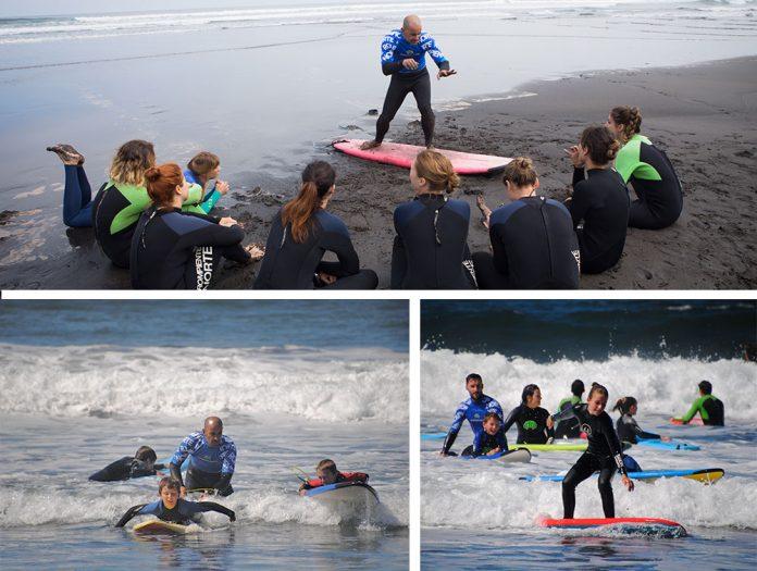 Rompiente Norte, surf al alcance de todos