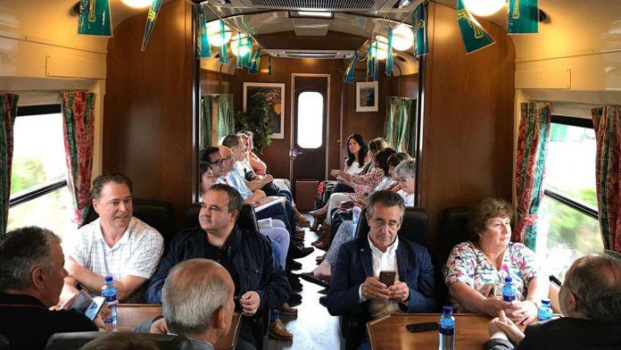 Los trenes turísticos empiecen sus rutas por Asturias